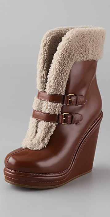Marc by Marc Jacobs Wedge Platform Booties