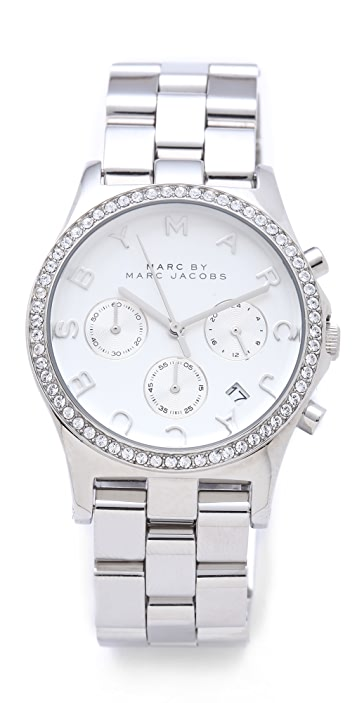 Marc by Marc Jacobs Henry Glitz Watch