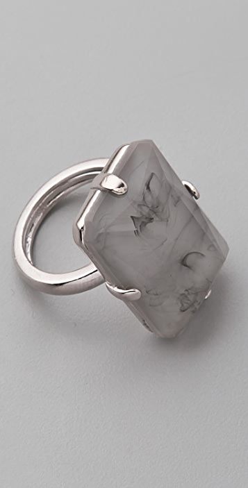 Marc by Marc Jacobs Faceted Ring