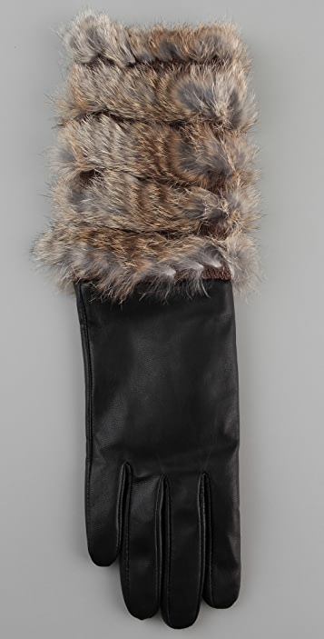 Marc by Marc Jacobs Lee Lee Fur Glove