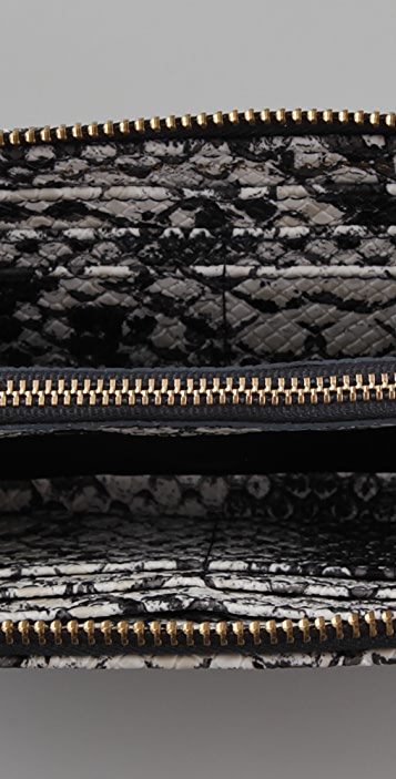 Marc by Marc Jacobs Supersonic Snake Print Slim Zip Wallet