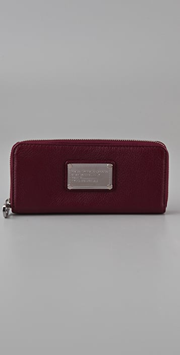 Marc by Marc Jacobs Classic Q Slim Zip Wallet