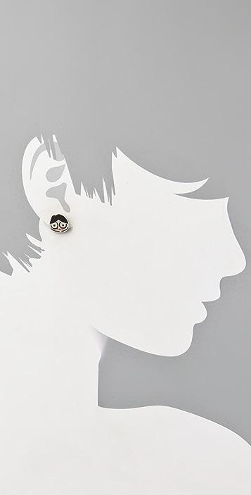 Marc by Marc Jacobs Miss Marc Stud Earrings