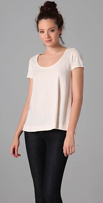 Marc by Marc Jacobs Cass Short Sleeve Blouse