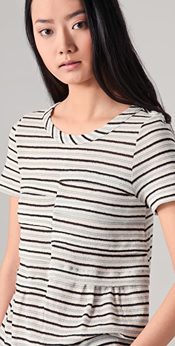 Marc by Marc Jacobs Biscayne Striped Tee