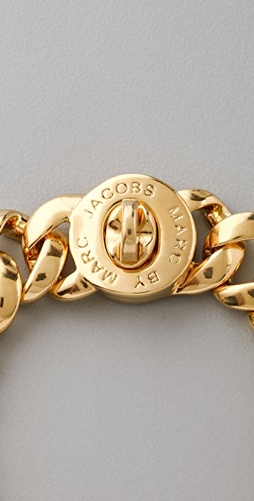 Marc by Marc Jacobs Small Turnlock Katie Bracelet
