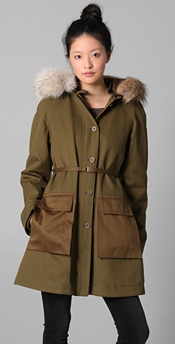 Marc by Marc Jacobs Delancey Parka Coat