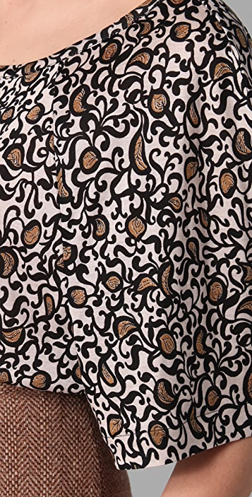 Marc by Marc Jacobs Cordosa Print Top