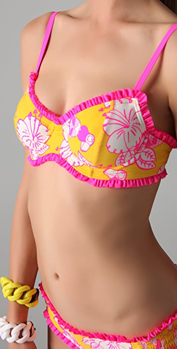 Marc by Marc Jacobs Where's My Tou Can Underwire Bikini Top