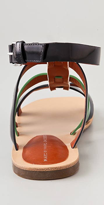 Marc by Marc Jacobs Strappy Sandals