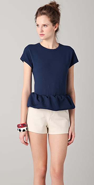 Marc by Marc Jacobs Luca Peplum Sweater