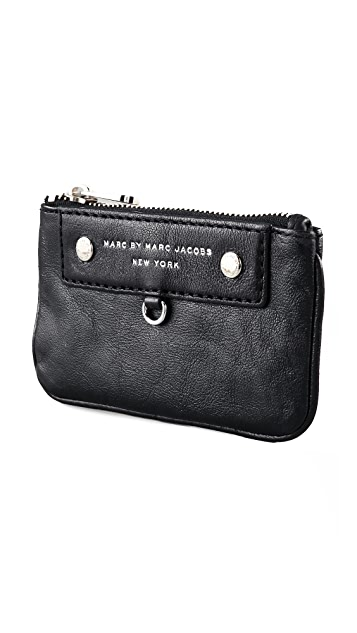 Marc by Marc Jacobs Preppy Leather Key Wallet
