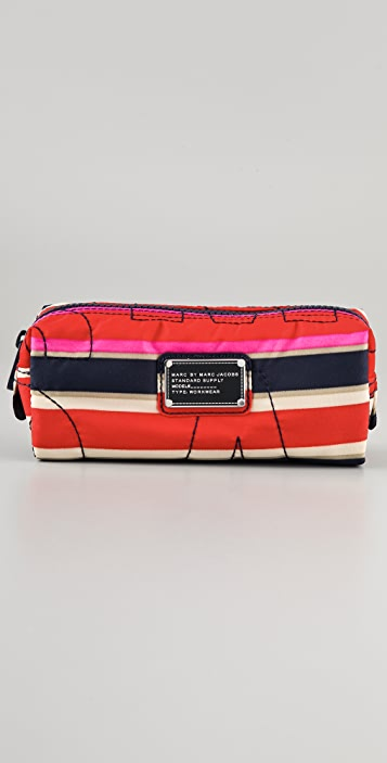 Marc by Marc Jacobs Pretty Nylon Narrow Cosmetic Case
