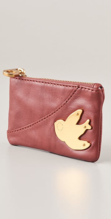 Marc by Marc Jacobs Petal To The Metal Key Pouch