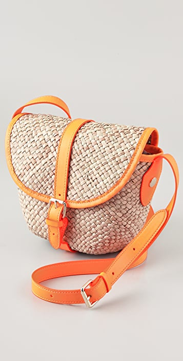 Marc by Marc Jacobs Preppy Straw Canteen Bag