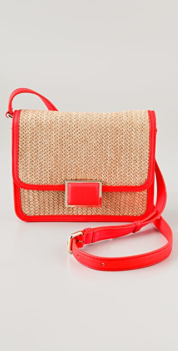 Marc by Marc Jacobs Solid Straw Jane's Friend Elaine Bag