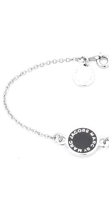 Marc by Marc Jacobs Dreamy Logo Enamel Disk Bracelet