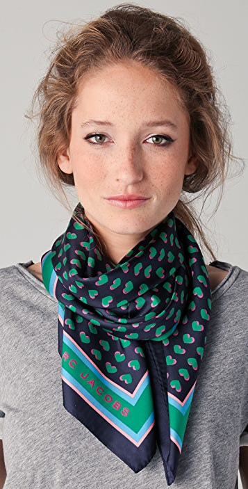 Marc by Marc Jacobs Light Hearted Scarf