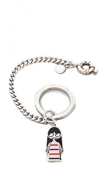 Marc by Marc Jacobs Miss Marc Bag Charm / Keychain