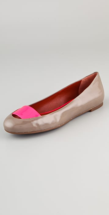 Marc by Marc Jacobs Band Ballet Flats