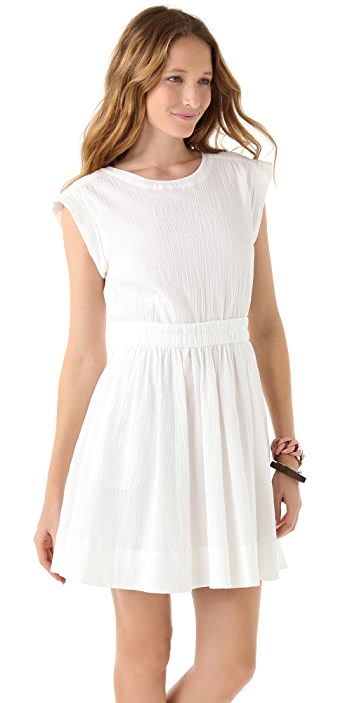 Marc by Marc Jacobs Aliyah Crinkled Cotton Dress