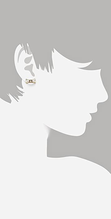 Marc by Marc Jacobs ID Jewels Bow Stud Earrings