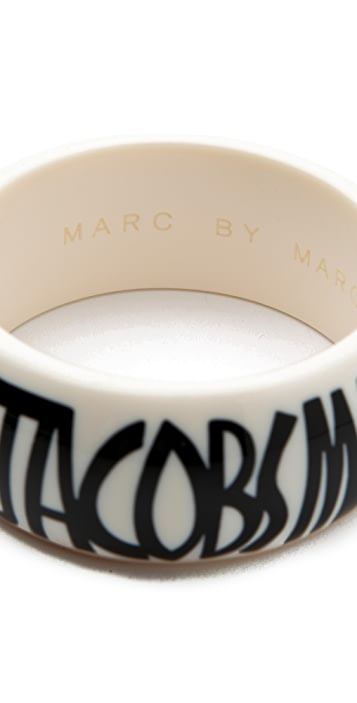 Marc by Marc Jacobs Jacobson Logo Bracelet