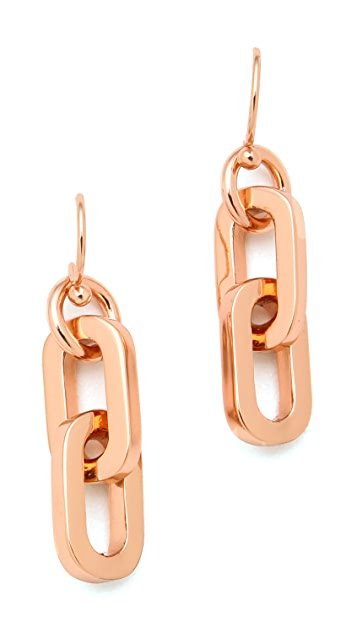 Marc by Marc Jacobs Mini Links Drop Earrings