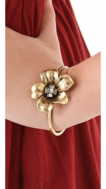 Marc by Marc Jacobs Marc Flowers Petit Flower Cuff