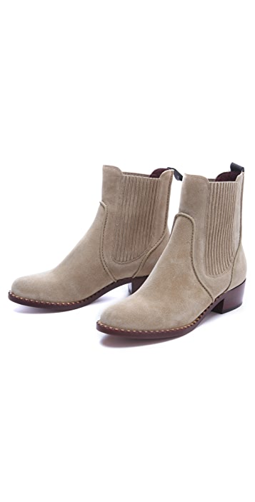 Marc by Marc Jacobs Classic Suede Chelsea Booties