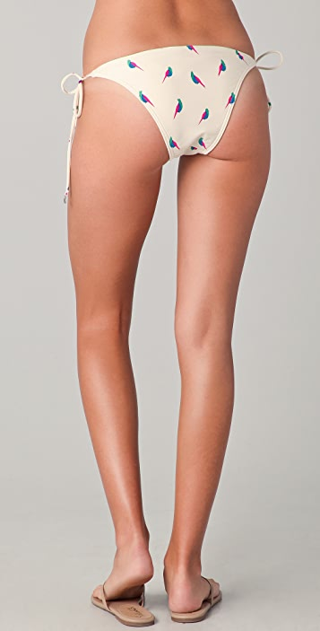 Marc by Marc Jacobs Finch Charm Euro String Bikini Bottoms