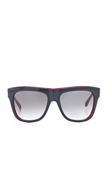 Marc by Marc Jacobs Triple Laminate Sunglasses