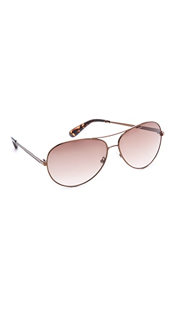 Marc by Marc Jacobs Easy Metal Aviator Sunglasses