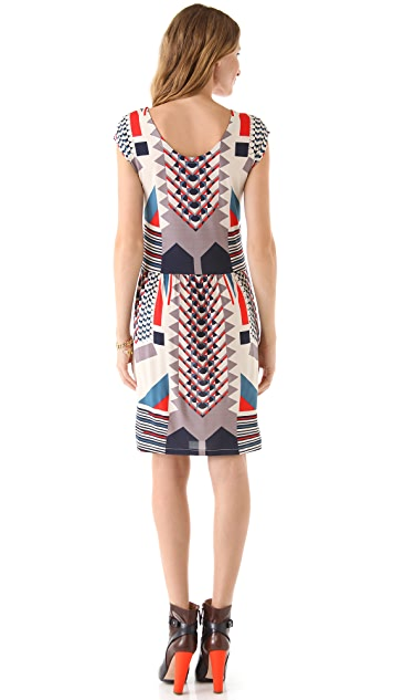 Marc by Marc Jacobs Tinka Print Dress