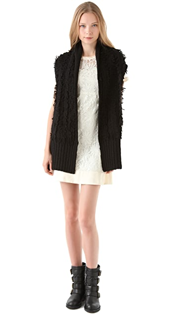 Marc by Marc Jacobs Clipped Sweater Vest