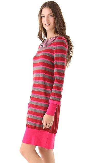 Marc by Marc Jacobs Yaani Stripe Sweater Dress