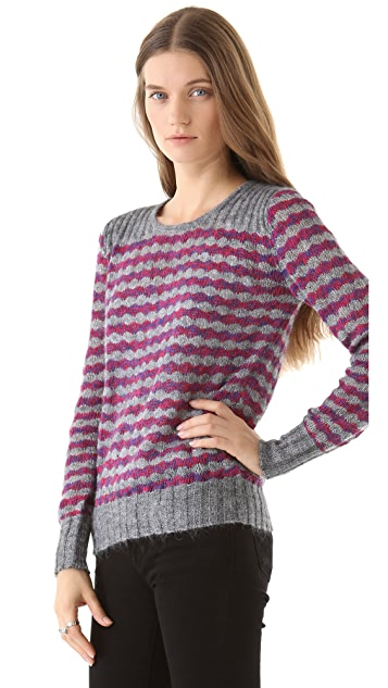 Marc by Marc Jacobs Twinkle Stripe Sweater