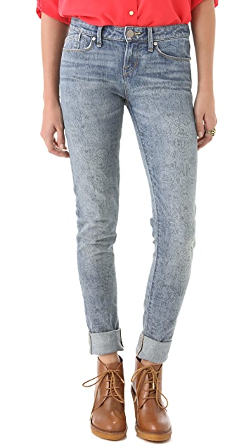 Marc by Marc Jacobs Standard Supply Rolled Slim Jeans