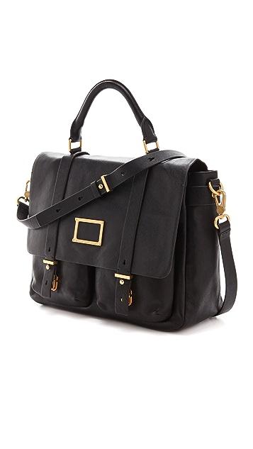 Marc by Marc Jacobs Werdie Large Top Handle Messenger Bag