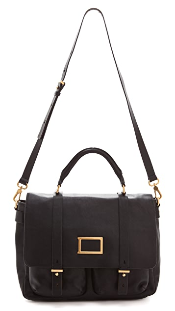 Marc by Marc Jacobs Werdie Large Top Handle Messenger Bag