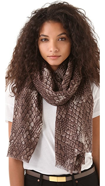 Marc by Marc Jacobs Dragon Scale Scarf