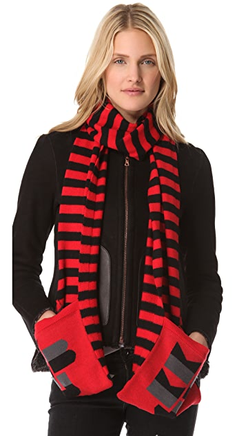 Marc by Marc Jacobs MBMJ Sweater Scarf