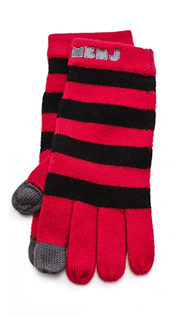 Marc by Marc Jacobs MBMJ Sweater Gloves