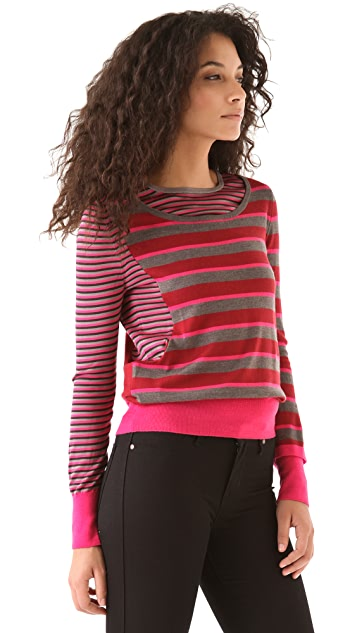 Marc by Marc Jacobs Yaani Stripe Sweater