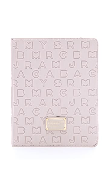 Marc by Marc Jacobs Dreamy Logo Neoprene iPad Book