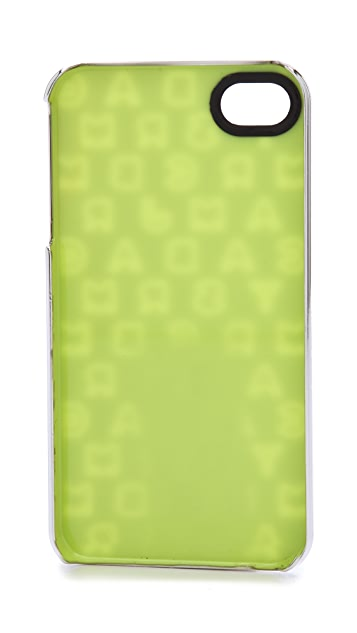Marc by Marc Jacobs Dreamy Logo Metallic iPhone 4 Case