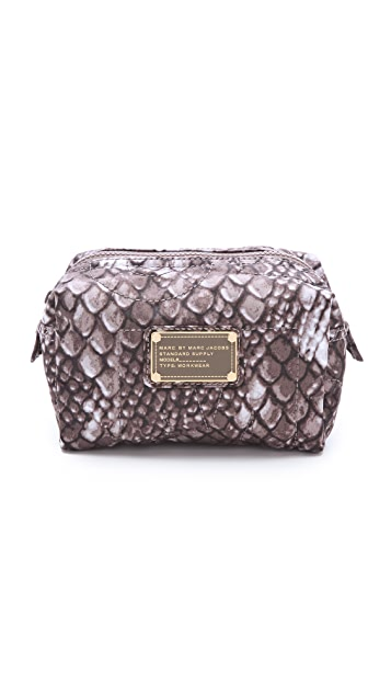 Marc by Marc Jacobs Pretty Nylon Dragon Scale Small Cosmetic Case