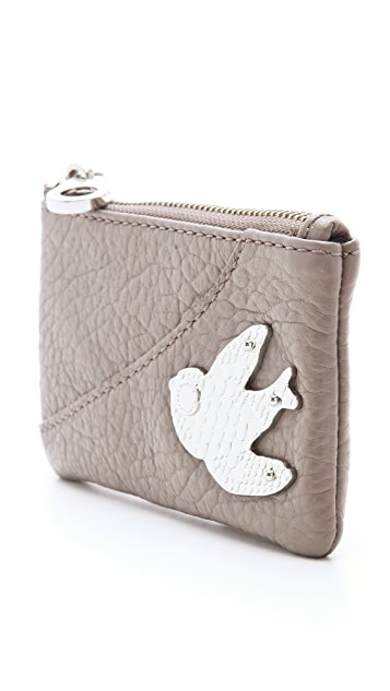 Marc by Marc Jacobs Petal To The Metal Key Wallet