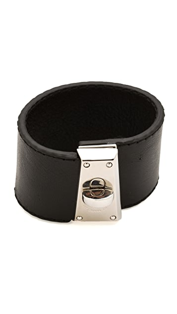 Marc by Marc Jacobs Intergalocktic Leather Bracelet