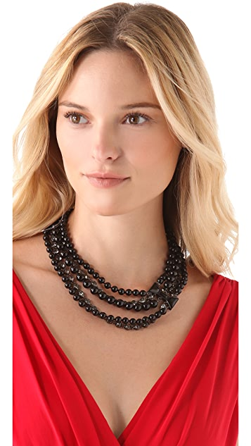 Marc by Marc Jacobs ID Bow Titina Necklace